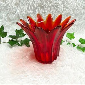 Studio Nova Hand Made Flower Petal Candle Holder